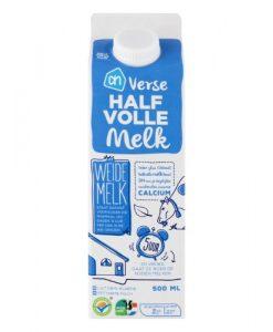pakje melk albert heijn