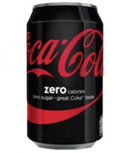 Blikje Cola zero