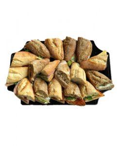 schaal broodjes groepslunch