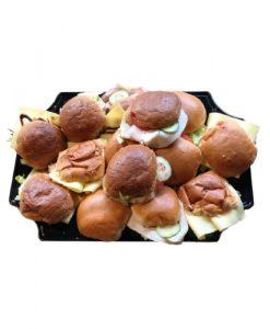 schaal broodjes standaard groepslunch